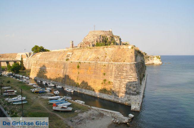 De oude vesting in Corfu stad